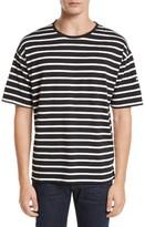 Burberry Men's Totfoard Stripe Oversize T-Shirt