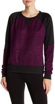 Steve Madden Two-Tone Colorblock Pullover