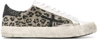 Premiata Steve leopard-print sneakers