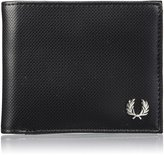 Fred Perry Men's Pique Billlfold Wallet Black One