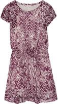 IRO Cantela printed georgette mini dress