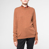 Paul Smith Women's Tan Marl Cashmere Sweater