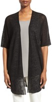 Eileen Fisher Women's Hemp Blend Elbow Sleeve Cardigan