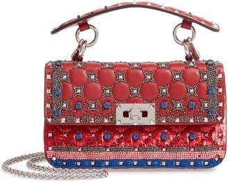 Valentino Garavani Small Spike It Leather Shoulder Bag