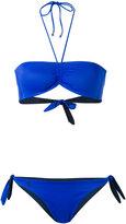 Polo Ralph Lauren bandeau bikini - women - Nylon/Spandex/Elastane - S