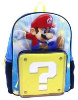 "Nintendo Super Mario 16"" Kids' Backpack with Sound"
