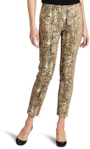 Vince Camuto Women's Cropped Angle Pocket Safari Skin Pant