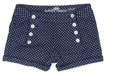 Delia's Polka Dot Sailor Short