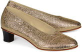 Martiniano Platinum Leather High Glove Shoes