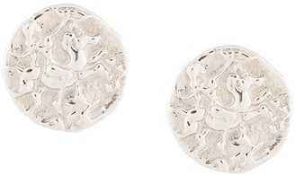 NATASHA SCHWEITZER Coin stud earrings