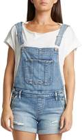 Silver Jeans Distressed Denim Overalls