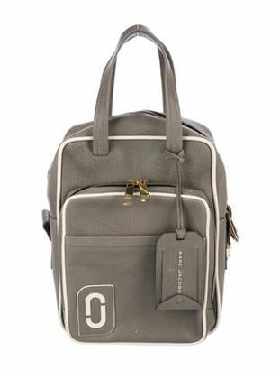 Marc Jacobs Leather Shoulder Bag Grey