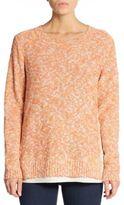 Lafayette 148 New York Bate Marled-Knit Sweater