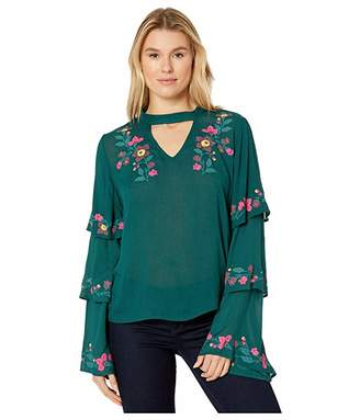 Rock and Roll Cowgirl Tiered Sleeves B4-3102