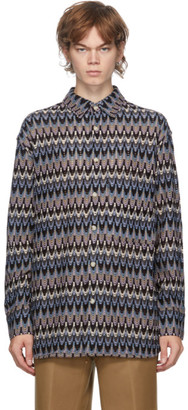 ANDERSSON BELL Multicolor Knit Bohemian Shirt