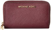 MICHAEL Michael Kors Jet Set Travel Dbl Za Card Holder