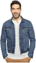 Calvin Klein Jeans Medium Wash Trucker Jacket Men's Jacket