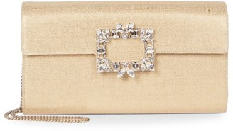 Roger Vivier Broche Envelope Clutch