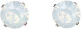 Accessorize Sterling Silver Swarovski Large Stud Earrings