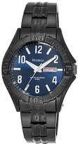 JCPenney Armitron All-Sport Mens Black Stainless Steel Watch