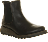 Fly London Salv Low Wedge Chelsea Boots