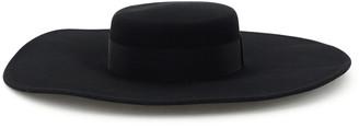 Ruslan Baginskiy Large-brimmed Felt Canotier Hat