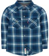 Levi's Toddler Boy Barstow Western Plaid Button Down Shirt