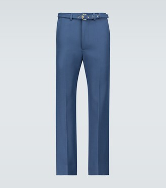 Gucci Exclusive to Mytheresa - flared wool pants