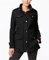 MICHAEL Michael Kors Quilted-Trim Water-Resistant Jacket