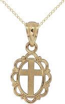 FINE JEWELRY Girls 14K Gold Pendant Necklace