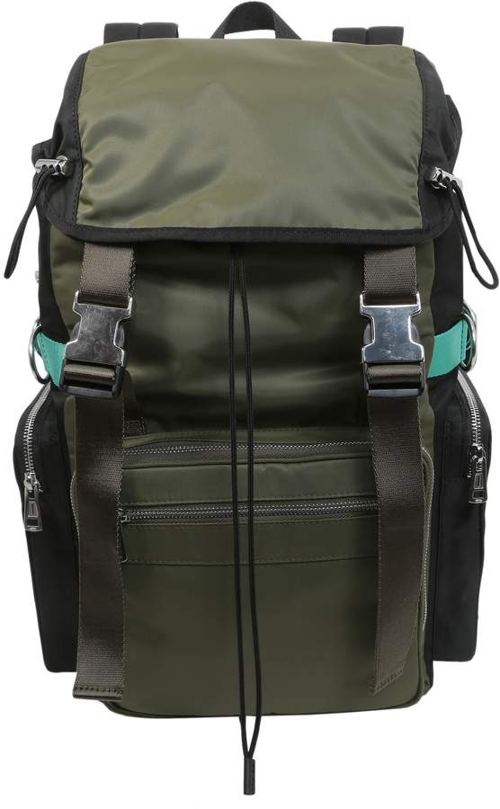Diesel Black Gold Nylon Backpack