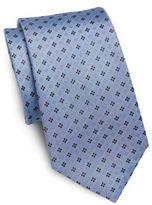 Saint Laurent Neat Floral Silk Tie