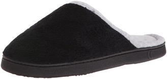 Isotoner Women's Microterry Wider Width Clog Slippers Slip on