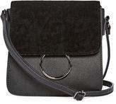 Asstd National Brand Mini Velvet Flap Crossbody Bag