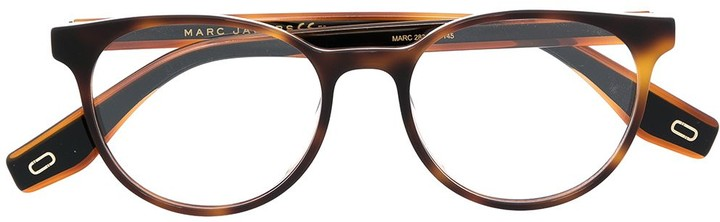 Thumbnail for your product : Marc Jacobs Tortoiseshell Round Frame Glasses
