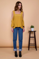Otis & Maclain Willow Top | Mustard Stripe