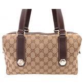 Gucci Boston cloth handbag