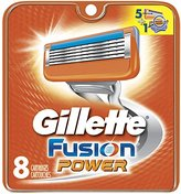 Gillette Fusion Power Men's Razor Blade Refills, 8 Count