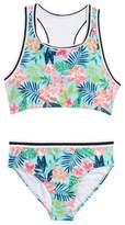 Jantzen High Neck Two-Piece Bikini Swimsuit