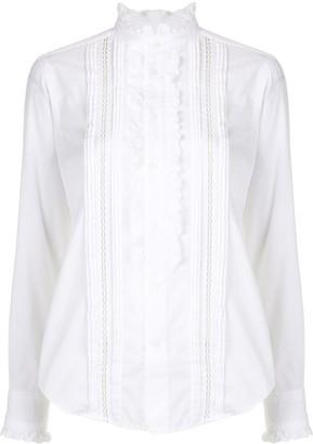 Polo Ralph Lauren High Neck Ruffled Shirt