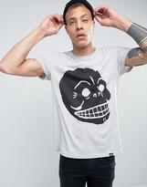 Cheap Monday Standard T-Shirt Filled Skull
