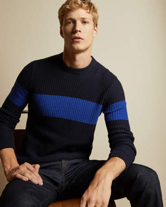 Ted Baker WITNES Ribbed striped jumper