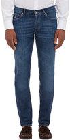 Brunello Cucinelli Men's Medium Blue Jeans-BLUE