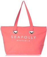 Seafolly Carried Away Eyelet Tote Beach Bag
