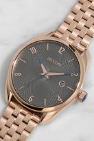 Nixon Bullet Rose Gold and Gunmetal Watch