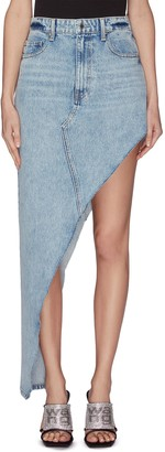 Alexander Wang 'Runway' asymmetrical denim skirt