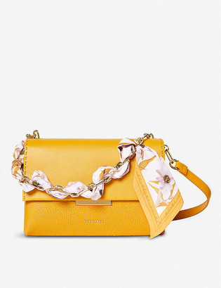 Ted Baker Elsy scarf-handle leather cross-body bag