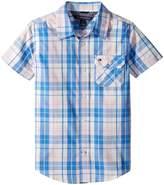 Tommy Hilfiger Short Sleeve Scout Yarn-Dye Shirt Boy's Clothing