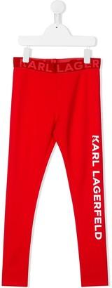 Karl Lagerfeld Paris Kl logo leggings