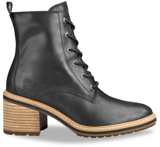Timberland Sienna Leather Combat Boots
